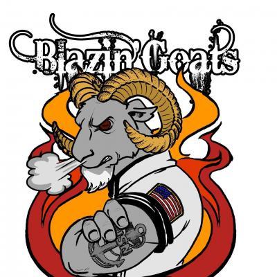 blazin goats bbq white