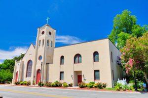 Christ Episcopal Church, located in Smithfield, Virginia.