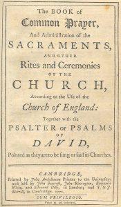 Book Of Common Prayer 1662