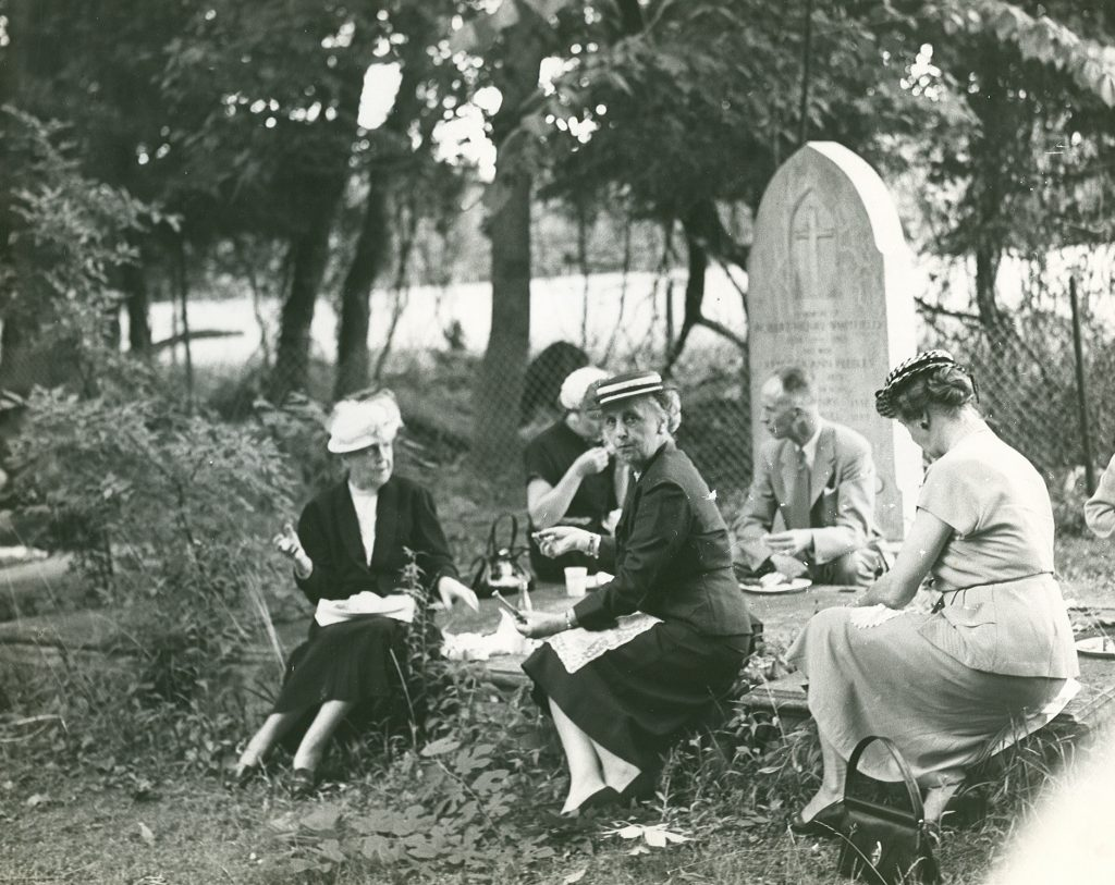 A Picnic in the Cemetery