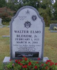 Walter Elmo Bloxom, Jr. (1923 – 2005)